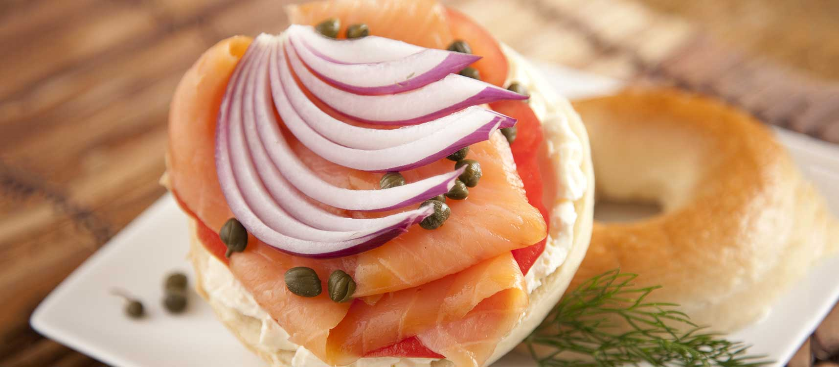 Gill's Onions - Salmon Bagel Recipe